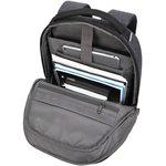 "Фото 2/7 Рюкзак для ноутбука 15"" Targus TSB952GL серый полиэстер"
