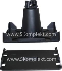 GL-11706, GALMAR Держатель на плоскую крышу для токоотвода (D8 мм; для приклеивания; пластик)