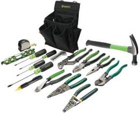 GT-56350, Greenlee набор инструмента 17 предметов
