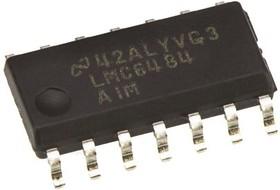 LMC6484AIM/NOPB, Счетверенный операционный усилитель с размахом входного и выходного напряжения