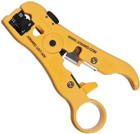 UST-500, Инструмент для разделки кабеля UTP/STP, плоского 4P/6P, Coax RG59/6 и RG7/11