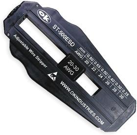 OK-ST-500ESD, OK ST-500ESD - прецизионный антистатический стриппер для провода 0,25 - 0,8 мм