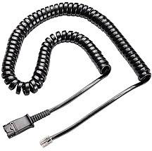 PL-U10P-S19, U10P-S19, витой шнур с QD для подключения гарнитур Н-серии к телефону