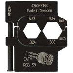 PM-4300-3138 , Матрица для опрессовки коаксиального кабеля ...