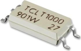Фото 1/4 TCLT1002, Оптопара, с транзистором на выходе, 1 канал, SOP, 4 вывод(-ов), 60 мА, 5 кВ, 63 %