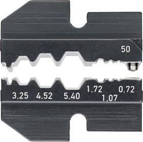 97 49 50, Матрица обжимного инструмента, 0.72-3.25мм RG58, RG74, RG188, RG316 Коаксиальные Разъемы