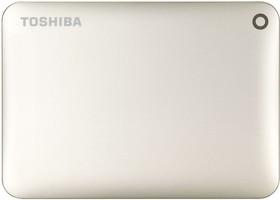 Внешний жесткий диск TOSHIBA Canvio Connect II HDTC830EC3CA, 3Тб, золотистый