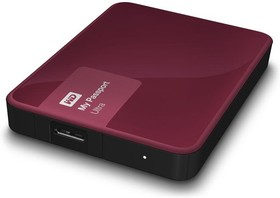 "WDBNFV0030BBY-EEUE, Внешний жесткий диск WD My Passport Ultra WDBNFV0030BBY-EEUE 3000ГБ 2,5"" 5400RPM USB 3.0 Berry"