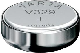 329 (V329), Элемент питания оксид серебра 1.55В