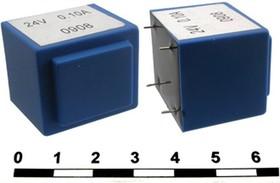 Фото 1/2 ТПК-2 (ТПГ-2) 13.5V (аналог), Трансформатор герметичный, 13.5В, 0.18А