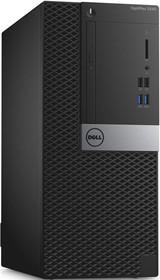 Компьютер DELL Optiplex 3040, Intel Core i5 6500, DDR3L 8Гб, 1000Гб, Intel HD Graphics 530, DVD-RW, Ubuntu, черный и (3040-2419)