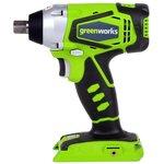 Гайковерт GREENWORKS 3801207 24В 300Нм 1/2'' 4000уд/мин LED ...
