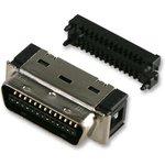 10150-6000EL, Разъем D Sub, Mini D (Ribbon Connector), Штекер, Серия 101 ...