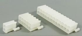 Штекер питания Mini-Fit 2-х рядный на 18 контактов, на плату, № 9560 шт пит MF\2x 9\P4,2\плата\\MF-2x9S