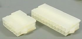 Штекер питания Mini-Fit 2-х рядный на 14 контактов, на кабель, № 9546 шт пит MF\2x 7\P4,2\каб\\MF-2x7M конт[13]