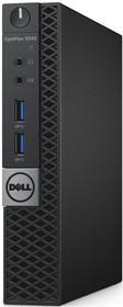 Компьютер DELL Optiplex 3040, Intel Core i3 6100T, DDR3L 4Гб, 128Гб(SSD), Intel HD Graphics 530, Windows 7 Professional (3040-9961)