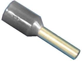 Фото 1/2 LT10008 (TIC-1.0-8) серый, Наконечник 8мм для обжима многожильн. кабеля 1,0мм изолир.