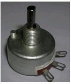 СП5-20ВБ, 2.2 кОм, 2 Вт, 10%, Резистор переменный
