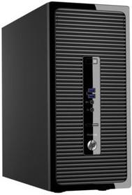 Компьютер HP ProDesk 400 G3, Intel Core i5 6500, DDR4 4Гб, 1000Гб, Intel HD Graphics 530, DVD-RW, Free DOS, черный [t4q93es]