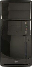 Компьютер IRU City 719, Intel Core i7 6700, DDR4 8Гб, 1Тб, Intel HD Graphics 530, Windows 7 Professional, черный [365021]