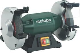 Точило METABO DSD 200 (619201000) 750Вт 380В 2980об/мин круг 200x25x32мм