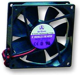 BP401005H-W, Осевой Вентилятор, серия DC 4010, 5 В, DC (Постоянный Ток), 40 мм, 10 мм, 7.7 фут³/мин, 0.22 м³/мин
