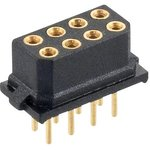 M80-8500845, PCB Receptacle, вертикальный, Board-to-Board, Wire-to-Board, 2 мм ...