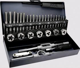 14A426, Плашки и метчики, M3 - M12, набор 32 шт.,
