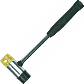 02A330, Молоток жестянщика 35 мм резина/пластик, металлическая рукоятка (02A330)
