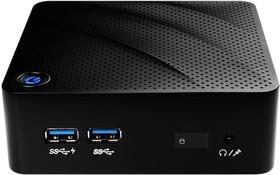 Неттоп MSI Cubi N-011XRU, Intel Celeron N3050, DDR3L 4Гб, 500Гб, Intel HD Graphics, noOS, черный [9s6-b12011-011]