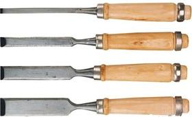 09A320, Стамески 6-24 мм, набор 4 шт.