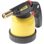 44E141, Лампа паяльная газовая, картриджи 190 г, пьезозажигание