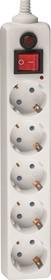 Сетевой фильтр Navigator 71 861 NSP-05-180-ESC-3х0.75 сет фильтр, 5 гн 1.8м