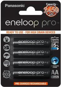 Аккумулятор Panasonic eneloop pro BK-3HCDE/4BE 2500mAh AA BL4 (13345)