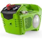 Компрессор GREENWORKS 4100802 40В ресивер 2л давление 8Бар ...