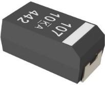 T591D337M2R5ATE015, 330 мкФ, 2.5 В, ± 20%, D, 0.015 Ом, Конденсатор танталовый SMD