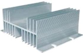 РТР062 (размеры 144*110*50), Радиатор для однофазного реле, ток нагрузки 60A