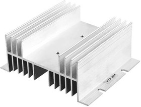 РТР061 ( размеры 144*67*50 ), Радиатор для однофазного реле, ток нагрузки 40A