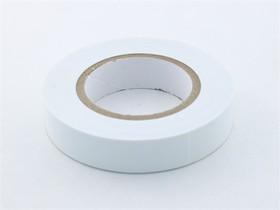 24B111, Лента изоляционная белая, 10 м x 19 мм