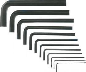 35D056, Ключи шестигранные 1.5-12 мм, набор 10 шт.
