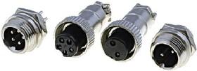 DS1110-3, Разъем миниатюрный 3pin (блок-кабель)