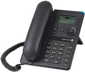 Фото 1/2 Системный телефон Alcatel-Lucent 8008 черный