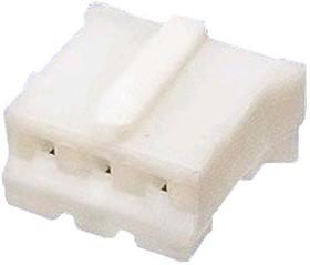 DS1066-03F(MU-3F), Розетка на кабель 3pin(м) шаг 2.00 мм с контактами