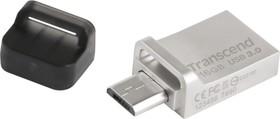 TS32GJF880S, 32GB JETFLASH 880 silver USB 3.0/microUSB