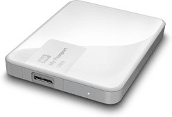 "WDBBRL5000AWT-EEUE, Внешний жесткий диск WD My Passport Ultra WDBBRL5000AWT-EEUE 500ГБ 2,5"" 5400RPM USB 3.0 White"