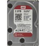 "WD20EFRX, Жёсткий диск WD Red™ WD20EFRX 2000ГБ 3,5"" IntelliPower 64MB (SATA-III) NAS Edition"