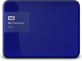 """WDBNFV0030BBL-EEUE, Внешний жесткий диск WD My Passport Ultra WDBNFV0030BBL-EEUE 3000ГБ 2,5"""" 5400RPM USB 3.0 Blue"""