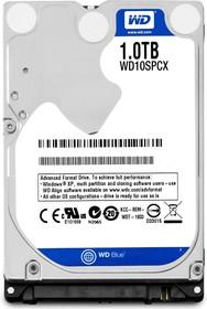 "WD10SPCX, Жёсткий диск WD Blue™ WD10SPCX 1000ГБ 2,5"" 5400RPM 16MB (SATA-III) Mobile"