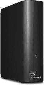 "WDBWLG0050HBK-EESN, Внешний жёсткий диск WD Elements Desktop WDBWLG0050HBK-EESN 5ТБ 3,5"" 5400RPM USB 3.0"