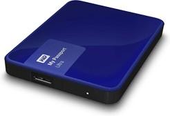 """WDBDDE0010BBL-EEUE, Внешний жёсткий диск WD My Passport Ultra WDBDDE0010BBL-EEUE 1000ГБ 2,5"""" 5400RPM USB 3.0 Blue"""